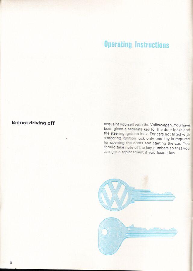 1966 Owner's Manual