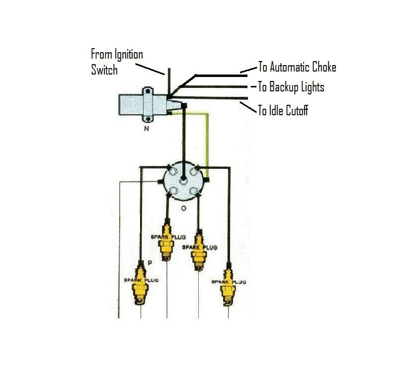 chevy ignition coil distributor wiring diagram ignition interlock wiring
