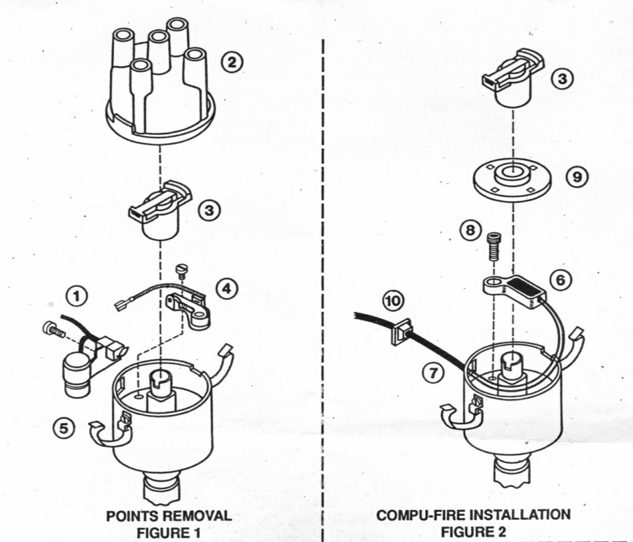 Vw Distributor Wiring Layout Diagrams Volkswagen Beetle Compufire Rh Resource Com 009 Golf 1