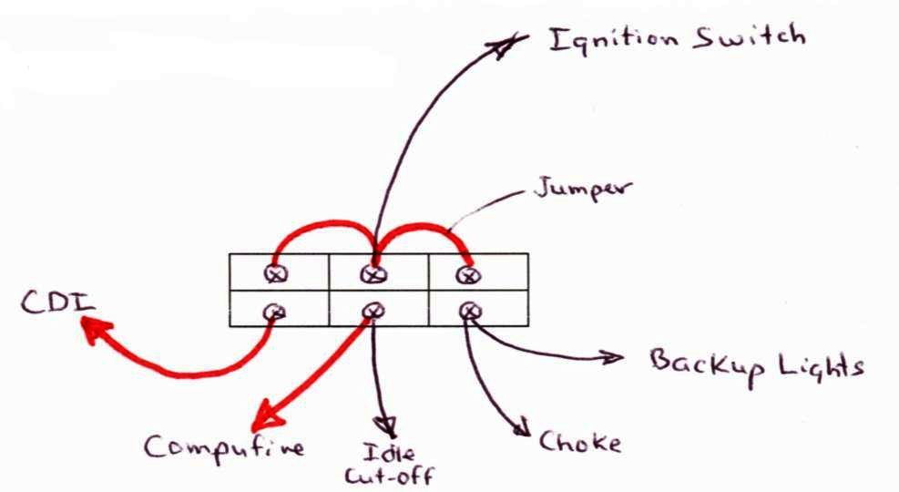 Power Block Diagram on points and cdi ignition diagram